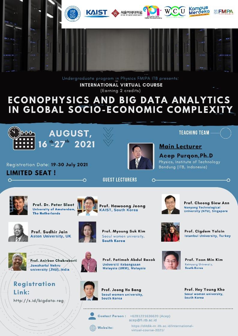 Econophysics and Big Data Analytics in Global Socio-Economic Complexity
